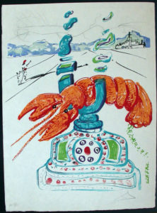 Salvador Dali - Dalinean Prophecy - Biological Garden