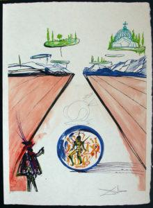 Salvador Dali - Dalinean Prophecy - Breathing Pneumatic Armchair