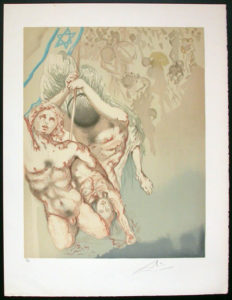 Salvador Dali - Individual Aliyah Lithographs for Sale - We Shall Go Up at Once