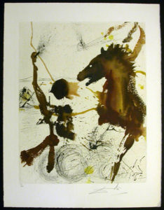 Salvador Dali - Individual Aliyah Lithographs for Sale - The Pioneers of Israel