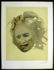 Salvador Dali - Individual Aliyah Lithographs for Sale - The Price -- Bereavement