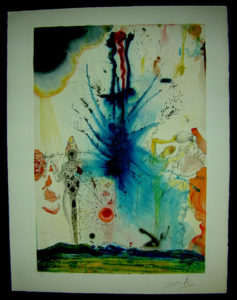 Salvador Dali - Individual Aliyah Lithographs for Sale - The Land of Milk and Honey