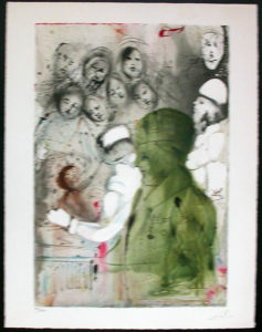 Salvador Dali - Individual Aliyah Lithographs for Sale - Covenant eternal: circumcision