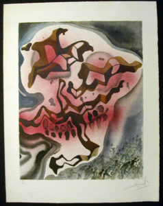 Salvador Dali - Individual Aliyah Lithographs for Sale - Yea Though I Walk