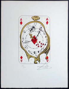 Salvador Dali - Playing Cards - Playing Cards Diamonds