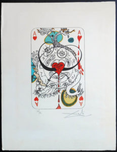 Salvador Dali - Playing Cards - Playing Cards Hearts
