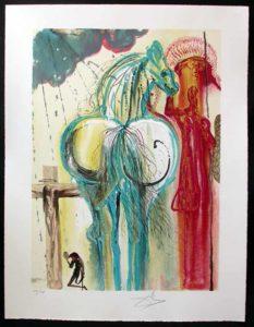 Salvador Dali - Dalinean Horses - Le Centurion