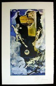 Salvador Dali - Lyle Stuart Tarot Cards - The Tower