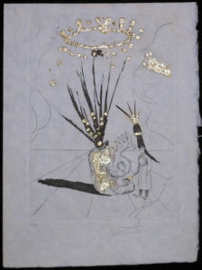 Salvador Dali - Les Amours Jaunes, The Golden Loves - Pudentiane