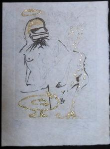 Salvador Dali - Les Amours Jaunes, The Golden Loves - Duel with camelias