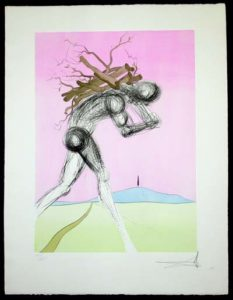 Salvador Dali - Twelve Tribes of Israel - Issachar