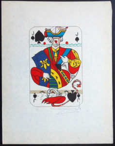 Salvador Dali - Playing Cards - Playing Cards Clubs - Jack of Clubs