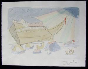 Salvador Dali - Our Historical Heritage - Jonah