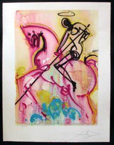 Salvador Dali - Dalinean Horses - St. George