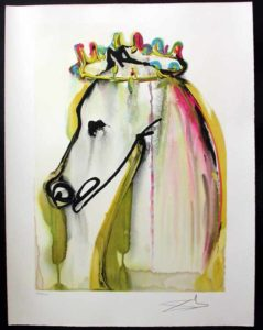 Salvador Dali - Dalinean Horses - Le Cheval Caligula