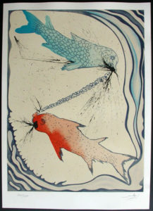 Salvador Dali - Twelve Signs of the Zodiac - Pisces