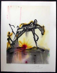 Salvador Dali - Dalinean Horses - Le Cheval de Labeur