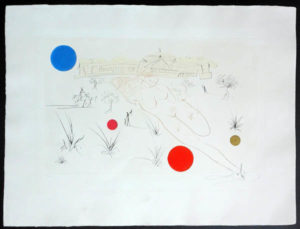 Salvador Dali - Visions of Chicago - Museum of S & I