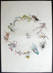 Salvador Dali - Twelve Signs of the Zodiac - Zodiac