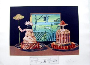 Salvador Dali - Les Diners de Gala - The 'I Eat Gala's'