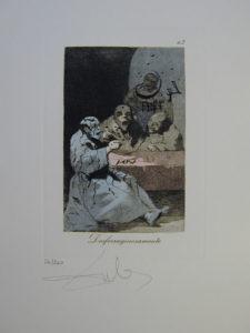 Salvador Dali - Les Caprices de Goya -