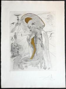 Salvador Dali - The Mythology - Athena