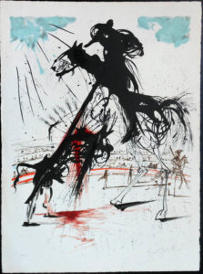 Salvador Dali - Tauromachie (Bullfight I) -