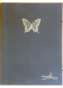 Salvador Dali - Papillons Anciennes - Portfolio Case