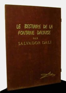 Salvador Dali - Le Bestiaire de La Fontaine - Portfolio Case