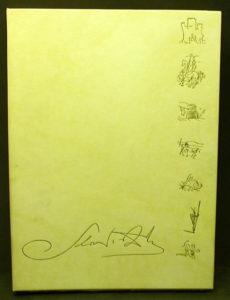Salvador Dali - La Quete du Graal - Cover