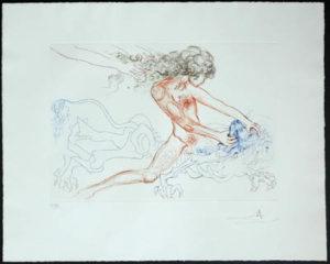 Salvador Dali - Famous Loves (Les Amours Celebres) - Samson and Delilah