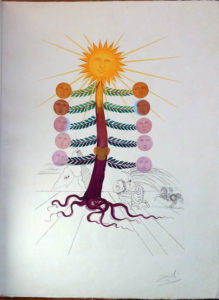 Salvador Dali - Flora Dalinae (FlorDali) - Luna Geminata (Moon)
