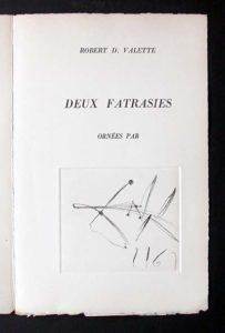 Salvador Dali - Deux Fatrasies - C