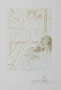 Salvador Dali - Le Decameron - L'angle Gabriel