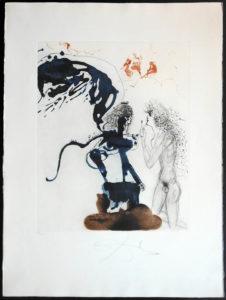 Salvador Dali - The Mythology - Edipus