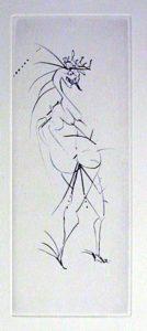 Salvador Dali - Faust - Grotesque