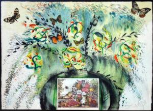 Salvador Dali - Currier & Ives - Les Fleurs et Fruite