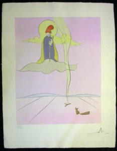 Salvador Dali - Japanese Fairy Tales - Jugoye