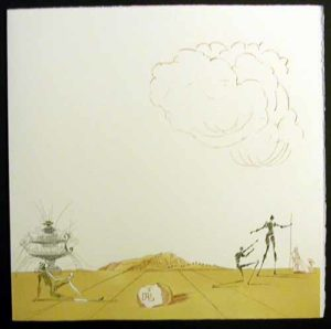 Salvador Dali - Neuf Paysages - Fantasmes