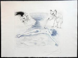 Salvador Dali - The Mythology - Hypnos