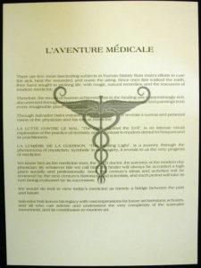 Salvador Dali - L'aventure medicale - Text
