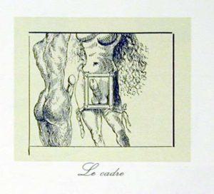Salvador Dali - Les Metamorphoses Erotiques - Le Cadre