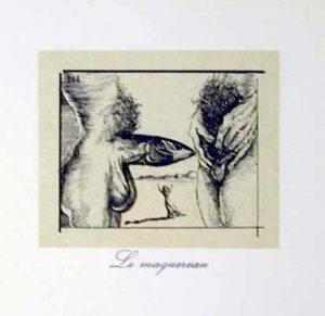Salvador Dali - Les Metamorphoses Erotiques - Le Magnerian