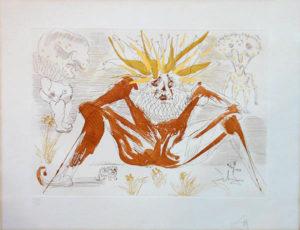 Salvador Dali - Le Cirque - Le Fou