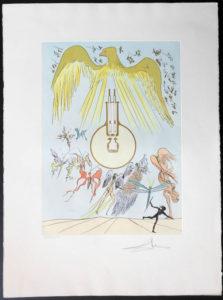Salvador Dali - Hommage to Leonardo da Vinci - Light Bulb