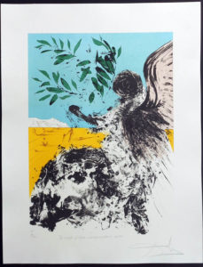 Salvador Dali - Peace in Vietnam - Peace at Last