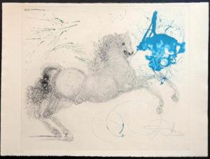 Salvador Dali - The Mythology - Pegasus