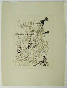 Salvador Dali - Poemes de Mao-tse-toung - River of Plenty