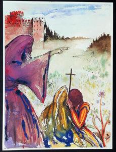 Salvador Dali - Romeo and Juliet -