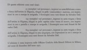 Salvador Dali - Romeo and Juliet - Justification